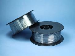 Flachheftdraht Stahl verzinkt (2 kg Spule)