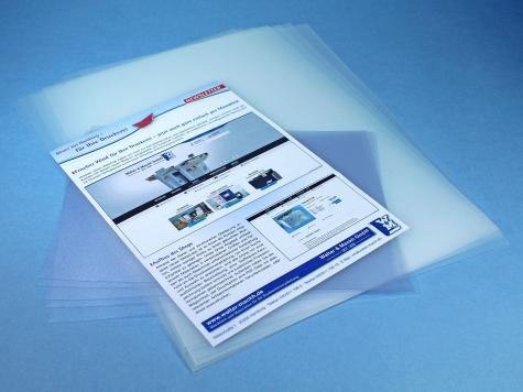 PVC-/PP-Zuschnitte, transparent matt